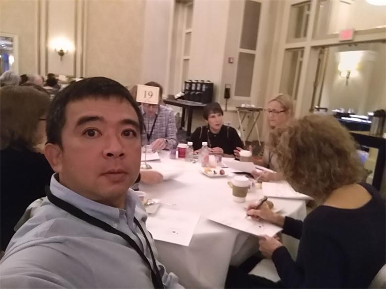 荷尔蒙专家孙涛教授与各国更年期专家讨论病例